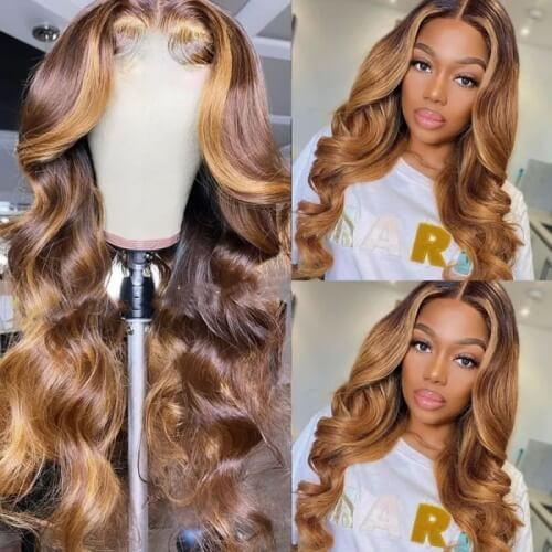 blonde balayage hair wig