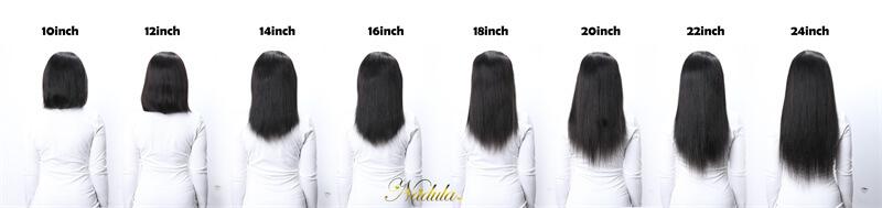 wigs measuring length