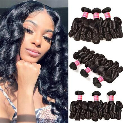 wet and wavy sew in hairstyles