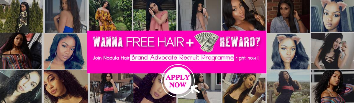 Get cash reward by reviewing Nadula hair